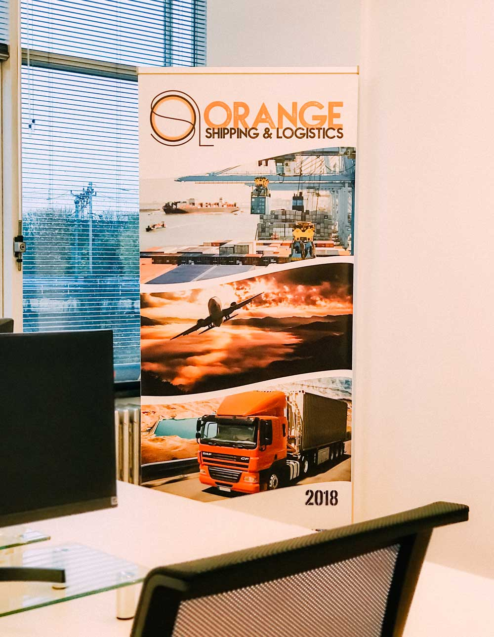 Orange Shipping and Logistics at Van Nelle Factory